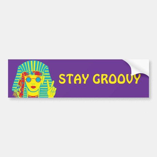 Egyptian Hippie Bumper Sticker