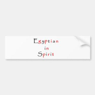 Egyptian in Spirit-bumper sticker Bumper Sticker