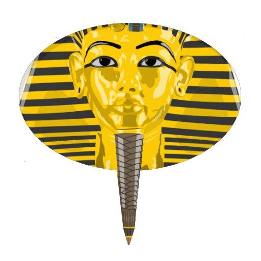 Egyptian King Pharaoh Cake Topper