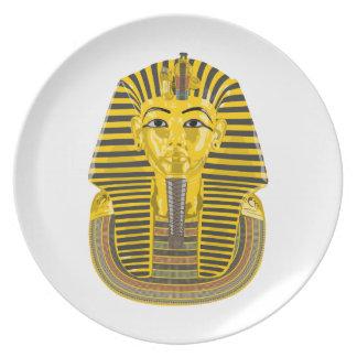 Egyptian King Pharaoh Party Plate