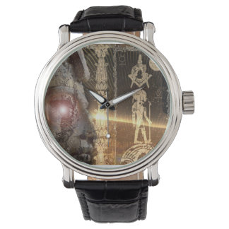 Egyptian Masonic Anunnaki watch
