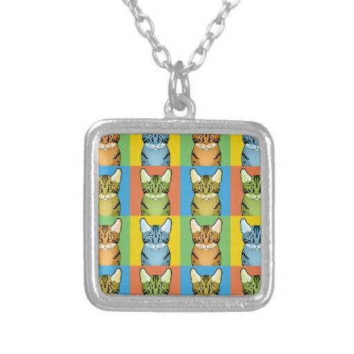 Egyptian Mau Cat Pop-Art Jewelry