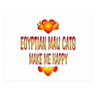 Egyptian Mau Cat Postcard