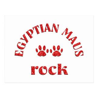 Egyptian Maus Rock Postcard