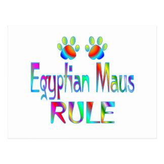 Egyptian Maus Rule Postcard