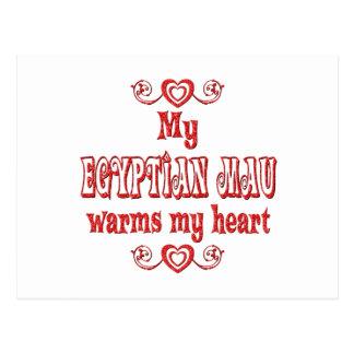 Egyptian Maus Warm My Heart Postcard