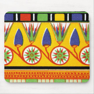 Egyptian Motiff Mouse Pad