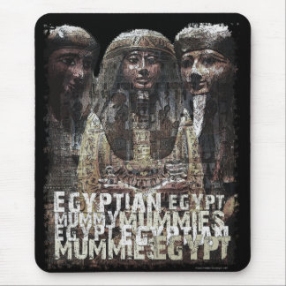 Egyptian Mummies Mouse Pad