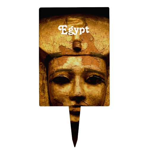 Egyptian Mummy Cake Picks