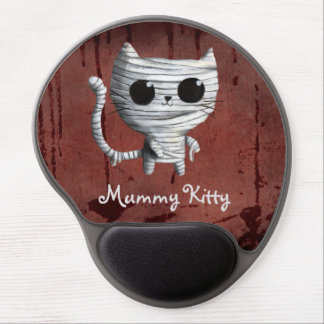 Egyptian Mummy Kitty Cat Gel Mouse Pad