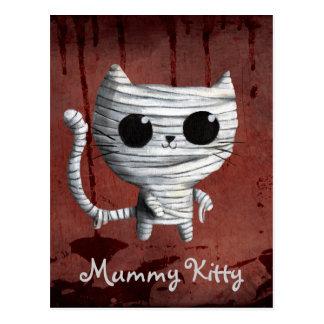 Egyptian Mummy Kitty Cat Postcard