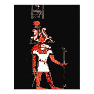Egyptian Mythology *Memphian Khnum* 11 Cm X 14 Cm Invitation Card
