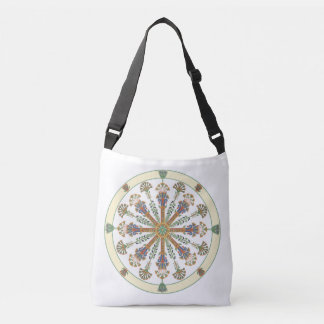 Egyptian Nouveau Lotus Mandala Bag