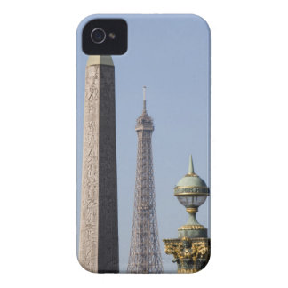 Egyptian Obelisk and lamp in Place de la iPhone 4 Cover