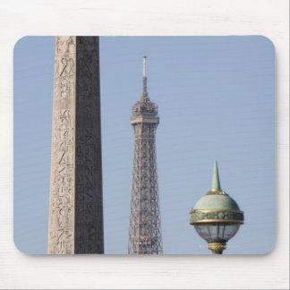 Egyptian Obelisk and lamp in Place de la Mouse Mat