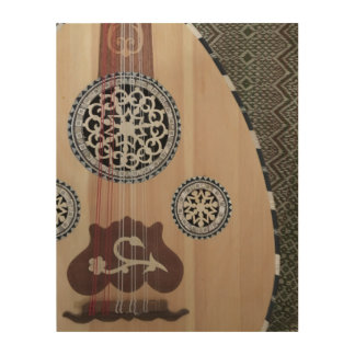 Egyptian Oud Middle Eastern Lute Wood Wall Art