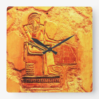Egyptian painting Wall Clock