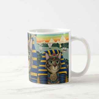 Egyptian Pharaoh Cat Bastet Egypt Bast Art Mug