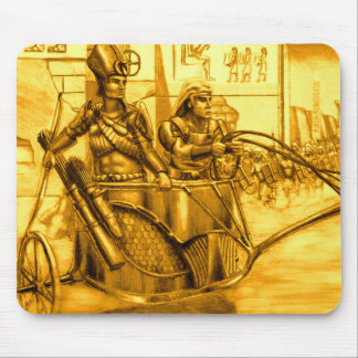 Egyptian Pharaoh in his Chariot Mouse Mat