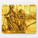Egyptian Pharaoh in his Chariot Mousepad