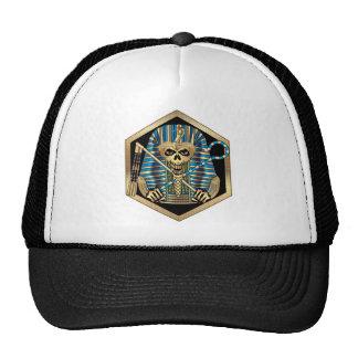 Egyptian Pharaoh Skull Hat
