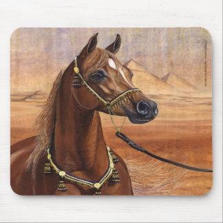 Egyptian Princess Arabian horse mousepad