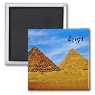 Egyptian Pyramids at Giza Magnet