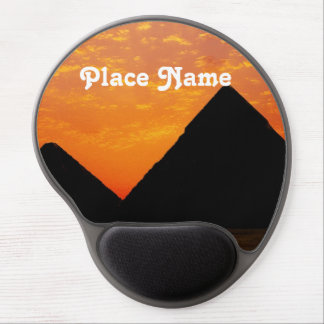 Egyptian Pyramids Gel Mouse Pad