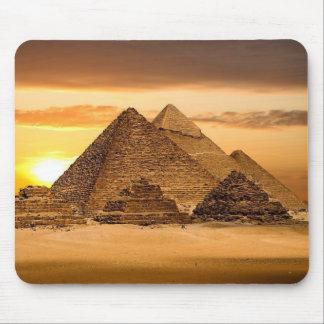 Egyptian pyramids mouse mat
