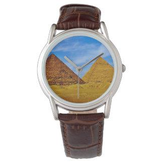 Egyptian Pyramids Watch