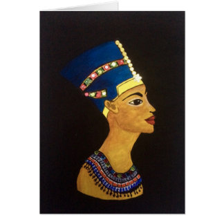 Egyptian Queen Card