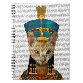 Egyptian Queen Cat Note Book