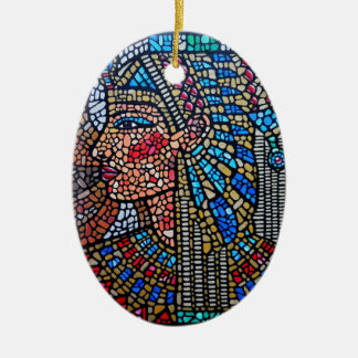 Egyptian Queen Christmas Ornament