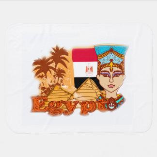 Egyptian queen cleopatra Baby Blanket