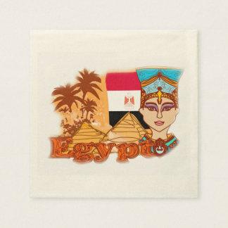Egyptian queen cleopatra Napkin Paper Napkin