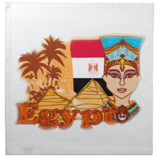 Egyptian queen cleopatra Napkins