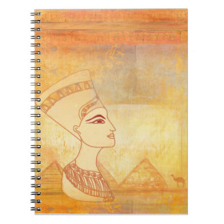 Egyptian queen Cleopatra Notebook