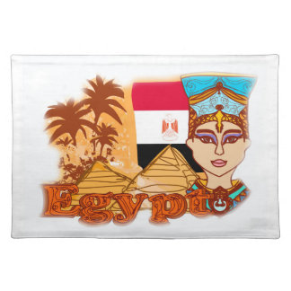 Egyptian queen cleopatra Place mats