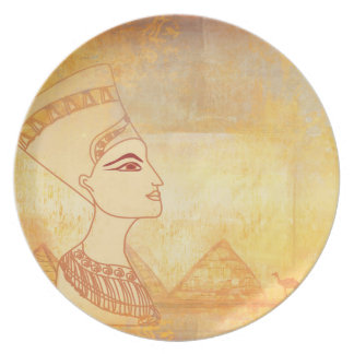 Egyptian queen Cleopatra Plate