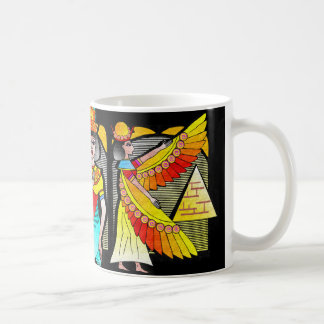 """EGYPTIAN QUEEN COFFEE MUG"