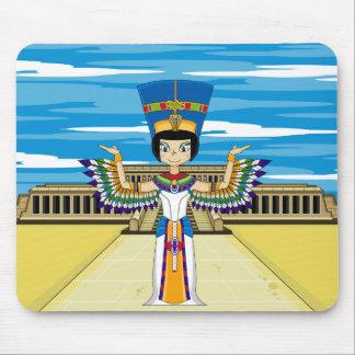 Egyptian Queen Nefertiti at Hatshepsut Mouse Pad