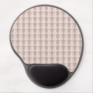 Egyptian Rose Twin Pharaoh Pink Stone Style Egypt Gel Mouse Pad