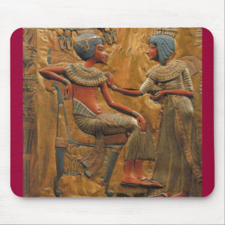 egyptian royality-scene mouse mat