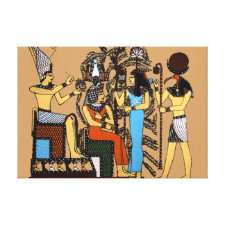 Egyptian Royalty Wrapped Wall Canvas Gallery Wrapped Canvas