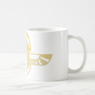 Egyptian scarab beetle. coffee mug