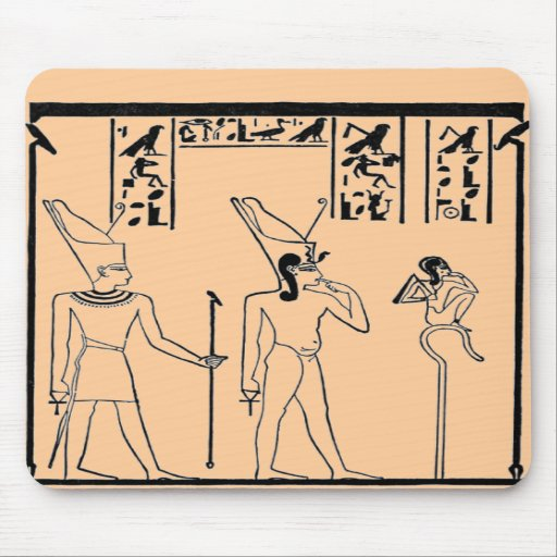 Egyptian Scene Mouse Pad