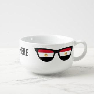 Egyptian Shades custom soup mug