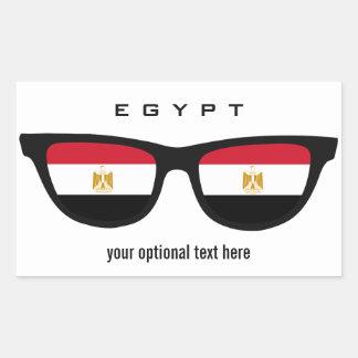 Egyptian Shades custom stickers
