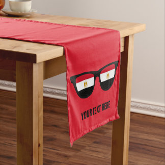 Egyptian Shades custom table runners
