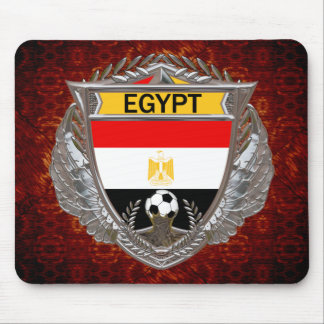 Egyptian Soccer Mouse Pad